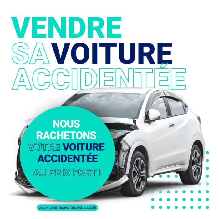 vendre sa voiture accidentée